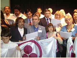 Partió Juan Alberto Badía,    Embajador de Paz