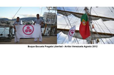 "Buque escuela argentino ""Ara Libertad"" llega a Venezuela"