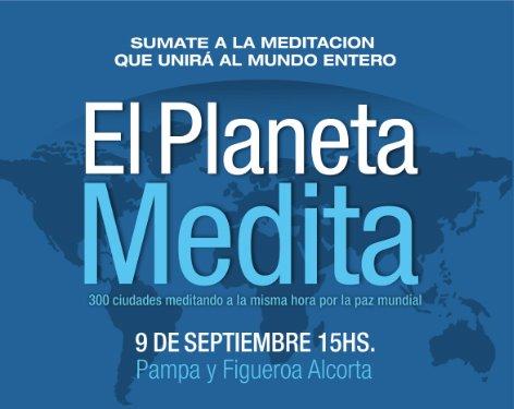Meditación masiva en el planetario