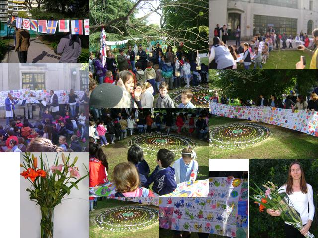 Escuelas del Distrito Nro 9 celebran el Día de la Paz
