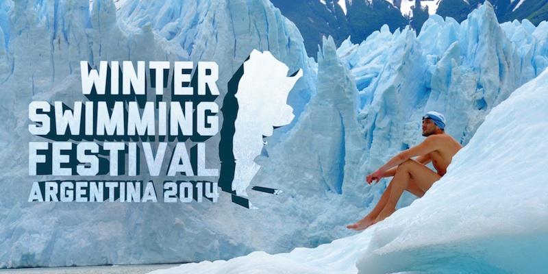 Matías Olá y International Winter Swimming Festival. Argentina 2014